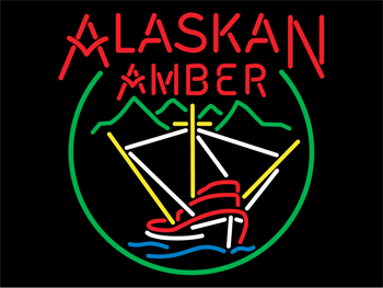 Alaskan Amber Neon Sign