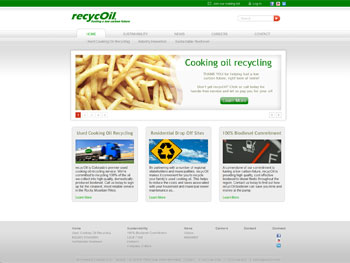 recycOil Website