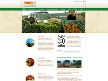 SOURCE Local Foods Website