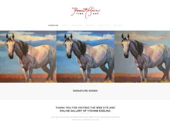 Yvonne Kozlina Website
